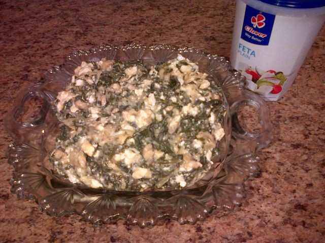 Spinach And Feta Filling