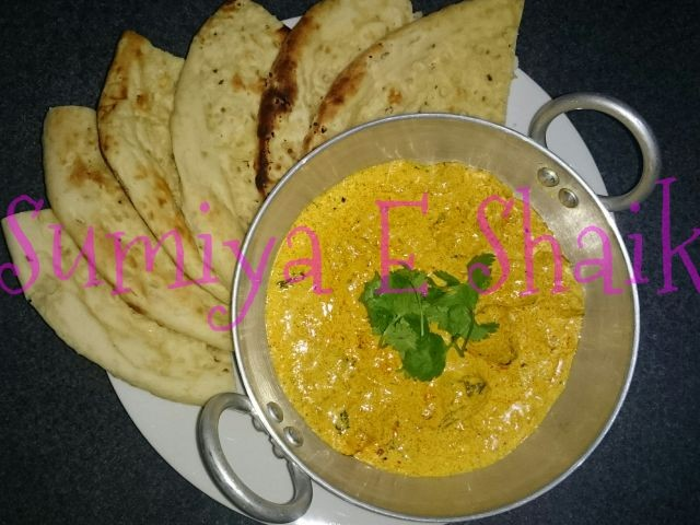 No Fuss Butter Chicken