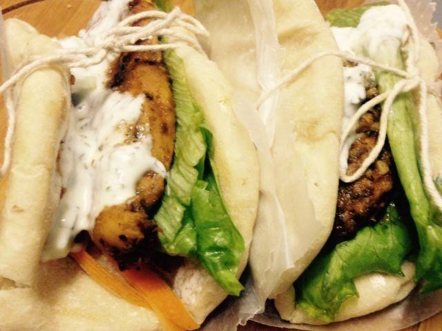 Chicken Gyro - Greek Style Fold Over | My Recipe