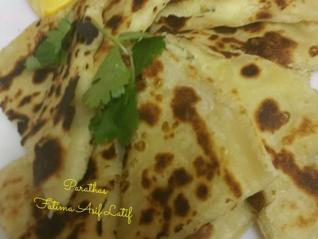 Aaloo Paratha's Cheese Paratha's