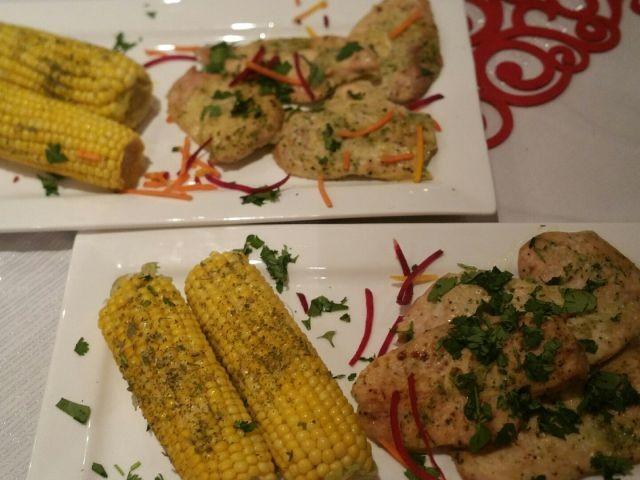 Grilled Chicken N Corn
