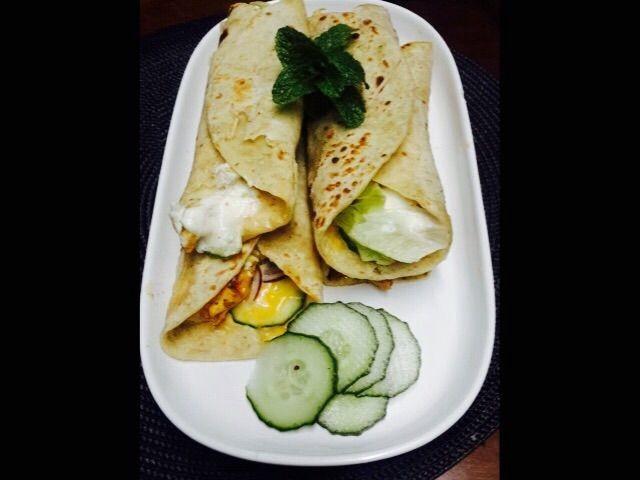 Chicken Wraps | My Recipe