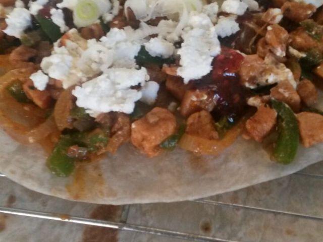 Easy Spicy Chicken Quesadillas