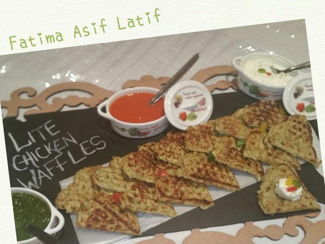 Lite Chicken Waffles