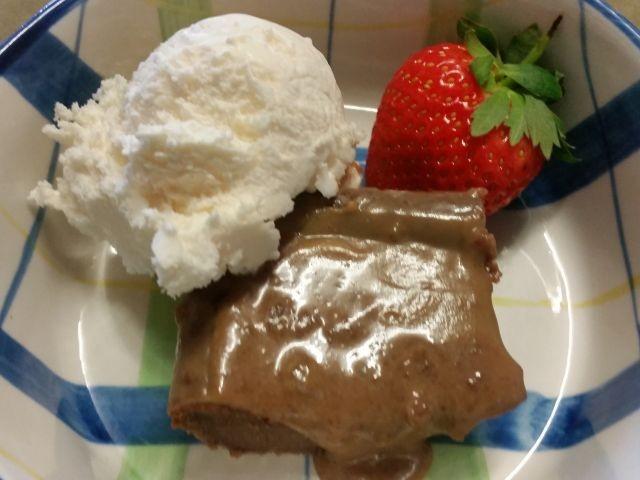 Chocolate Malva Pudding