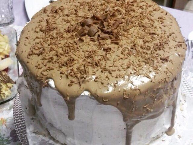 3 Layered Chocolate Chiffon Cake