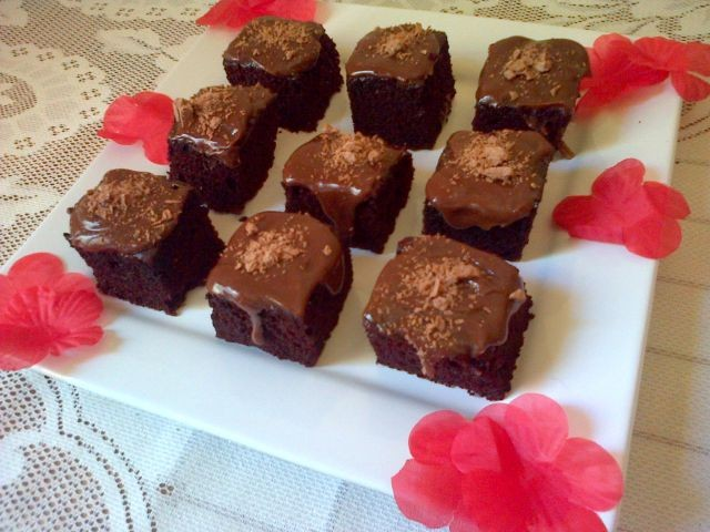 Sinful Choc Brownie Cake