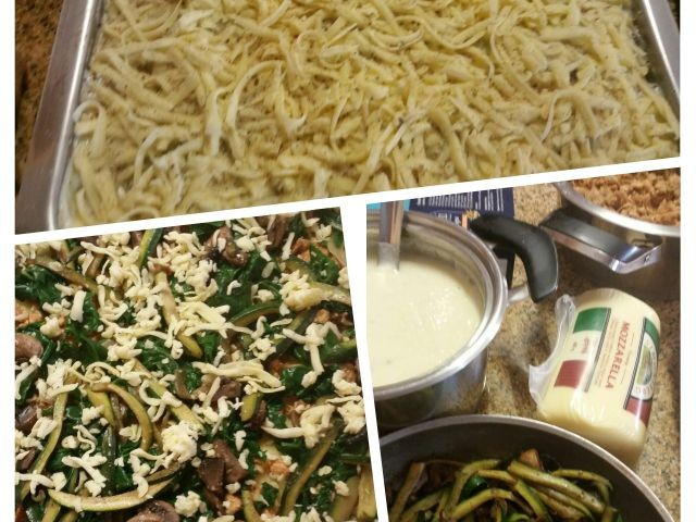 Yummy Veggie Lasagne