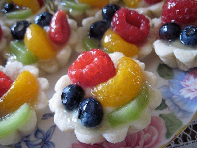 Yoghurt Fruit Cups
