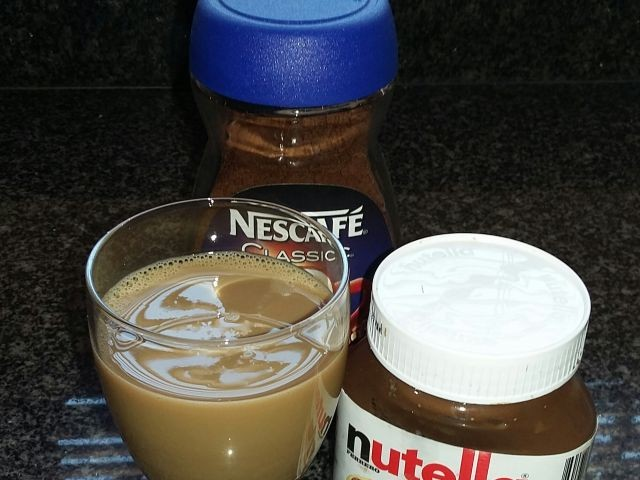 Nutella Iced Mochacchino
