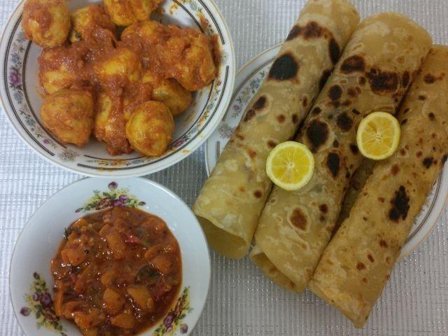 Chicken Kebaab Curry