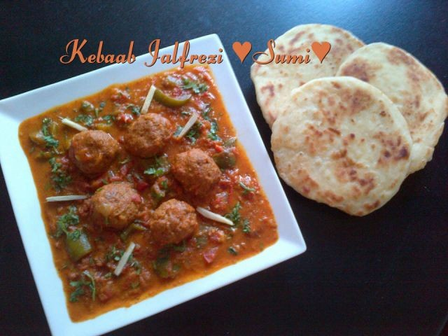 Chicken , Mutton Or Kebaab Jalfrezi