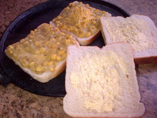 Sweetcorn Sandwiches