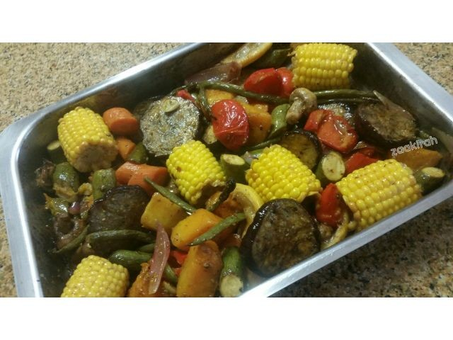 Roasted Pan Veggies
