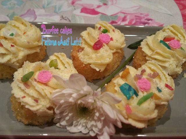 Burfee Cake Or Cupcakes
