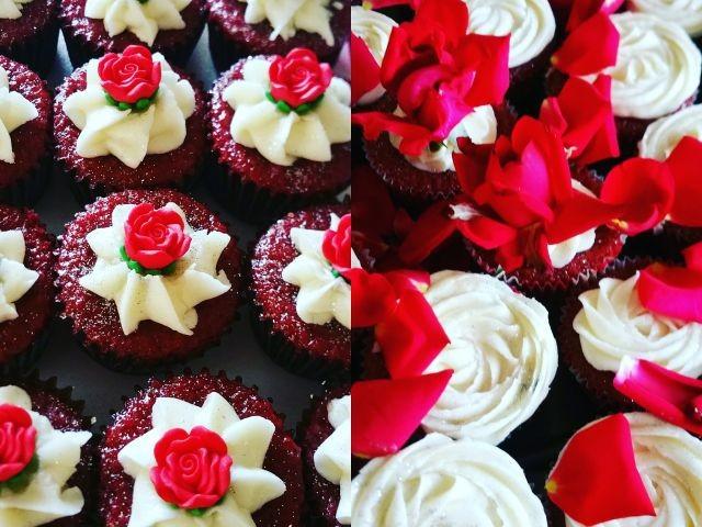 Beat And Bake Red Velvet Cupcakes And Red Velvet Bites