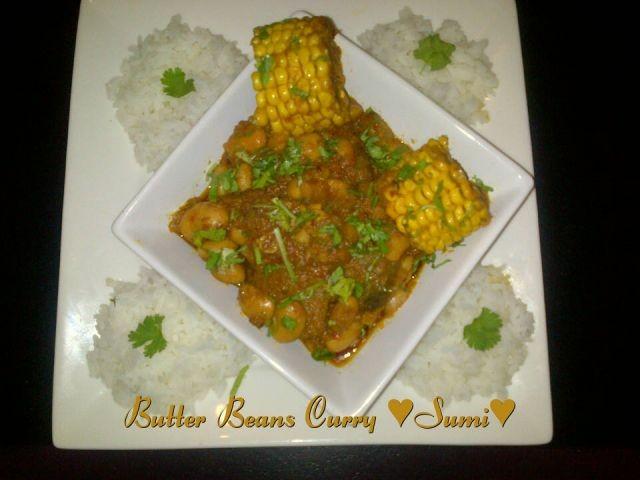 Butter Beans Curry