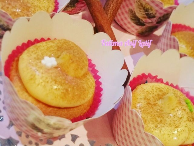 Milktart Cupcakes