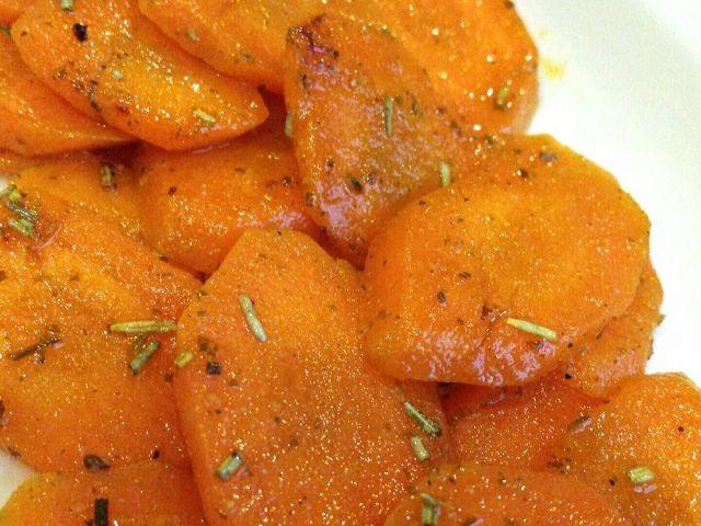 Sautèd Carrots
