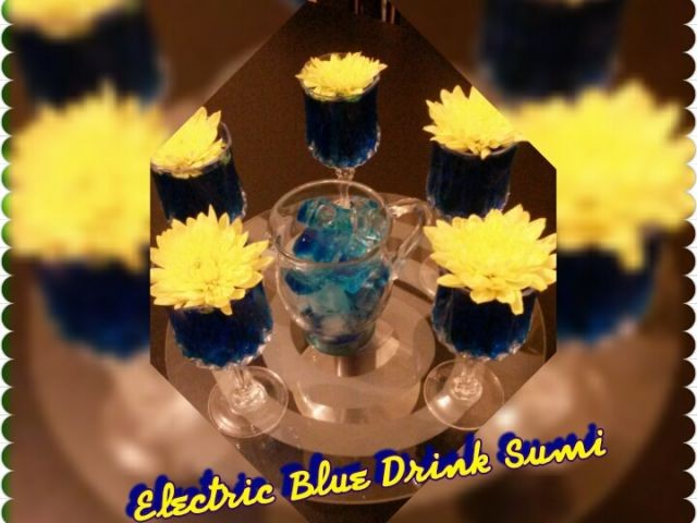 Electric Blue Drink