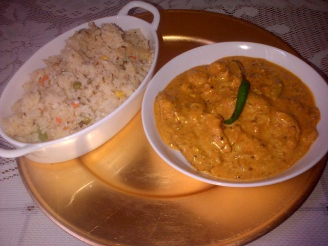 Quick Butter Chicken
