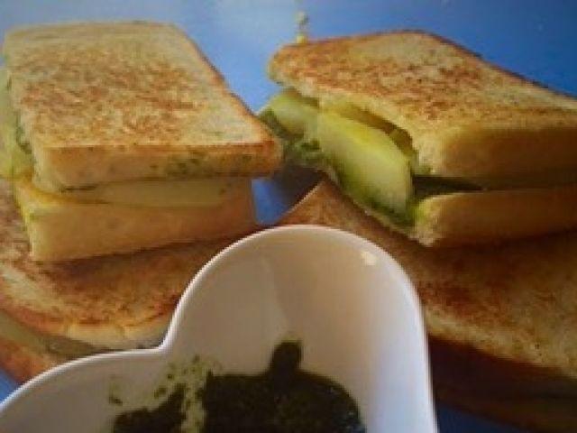 Veggie Potato Sandwich   My Recipe