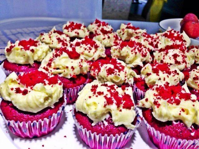 Twist On Red Velvet Cupcakes
