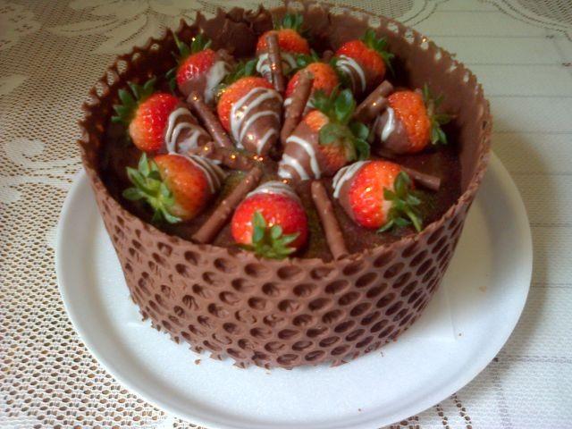 Chocolate Wall Cake