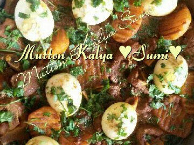Mutton Kalya