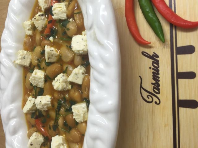 Butter Beans And Feta