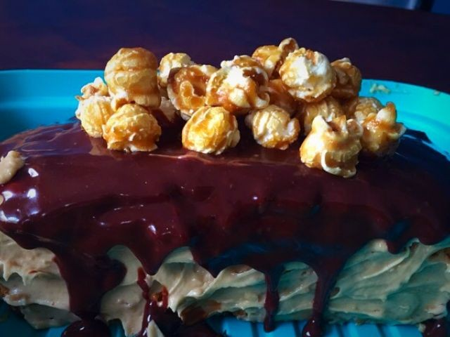 Snickers Cake | My Version