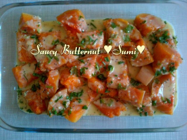 Saucy Butternut