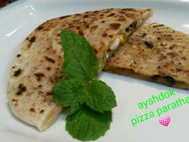 Pizzza Paratha