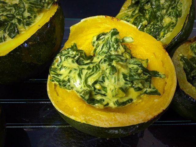 Creamy Spinach Stuffed Gem Squash | My Version