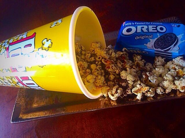 Oreo Popcorn | My Version