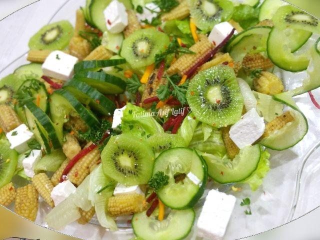 Kiwi N Corn Salad