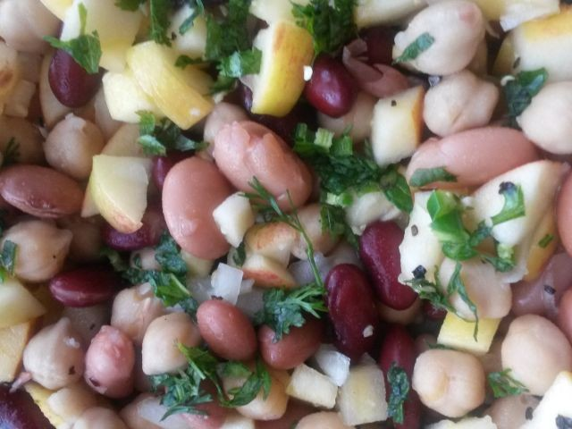 Apple & Bean Salad