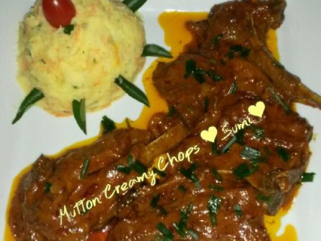 Mutton Creamy Chops
