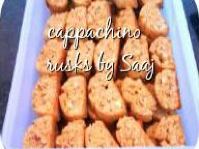 Cappachino Rusk