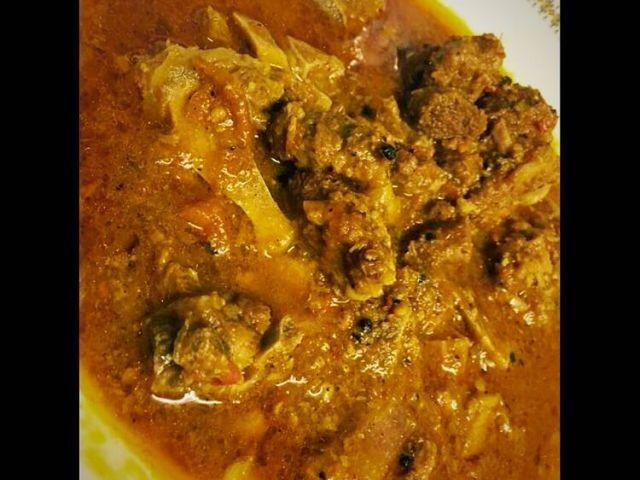 Pepper Mutton Karahi / My Recipe