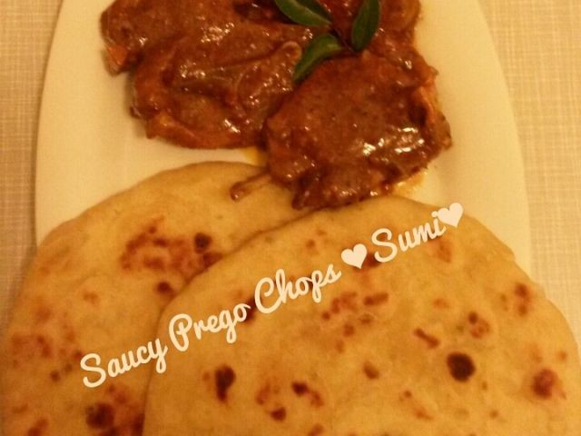 Saucy Prego Chops