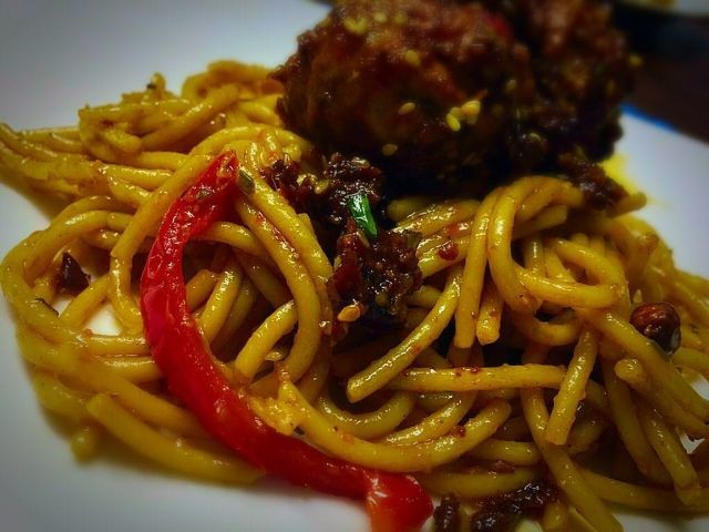 Kung Pao Spagetti / My Version