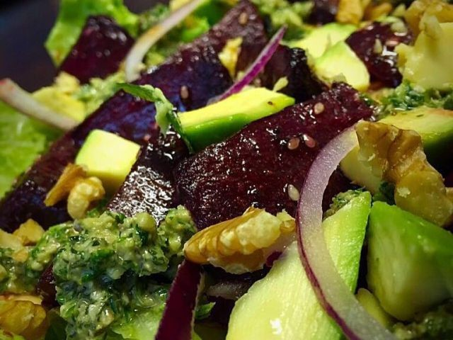 Beetroot And Avo Salad / My Recipe