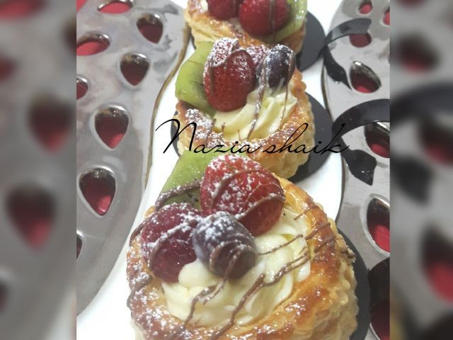 Puff Pastry And Berries
