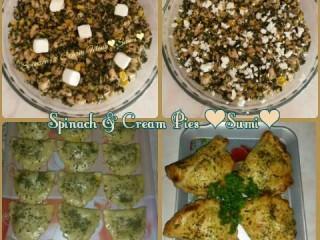 Spinach & Cream Pies