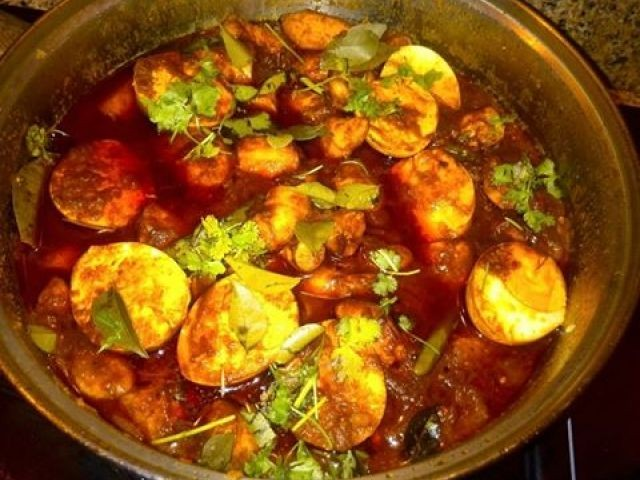 Fish Roes In Hot & Spicy Tomato Chutney