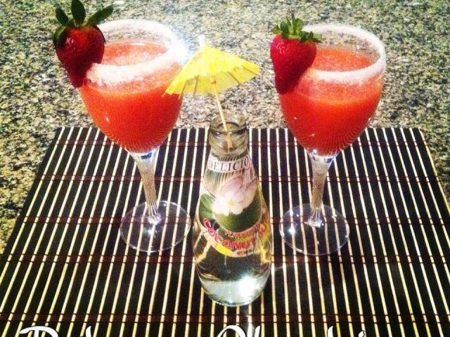 Organic Strawberry Daiquiri