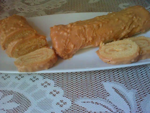 Caramel Crunch Swissroll