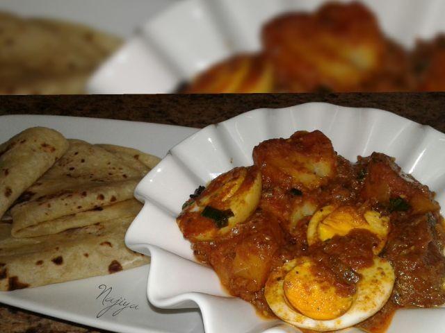 Aloo Beda Curry (potato N Egg Curry)