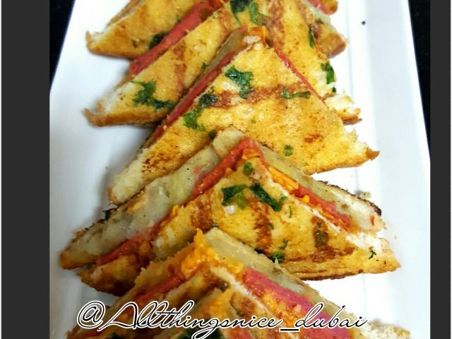 Fried Sandwiches